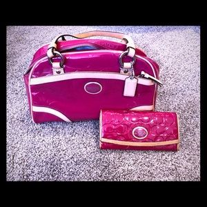 Authentic Coach with wallet